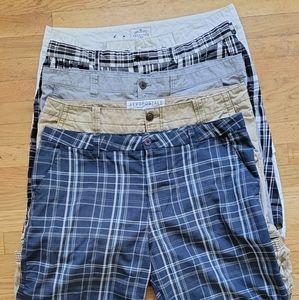 5 pairs men's shorts size 40 EUC
